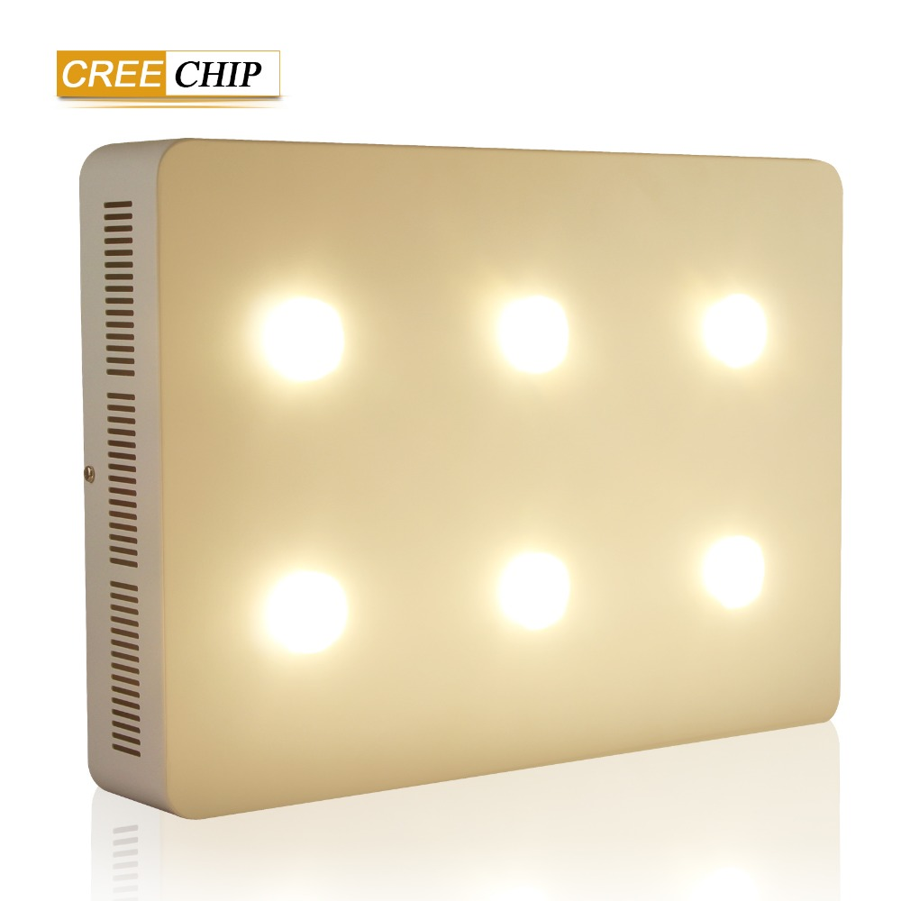 High-quality CREE COB chip Led plant grow light 6 hole 1200w high power for indoor&greenhouse planting provide grow fast light high quality high power cob led industrial light led high bay light 100w used for sports centres