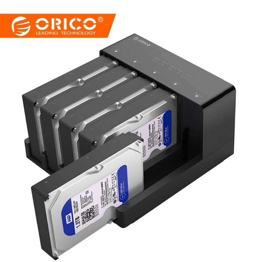 orico 5 bay usb 3 0 hdd docking station tool free usb 3 0 to sata hard drive [ 1000 x 1000 Pixel ]