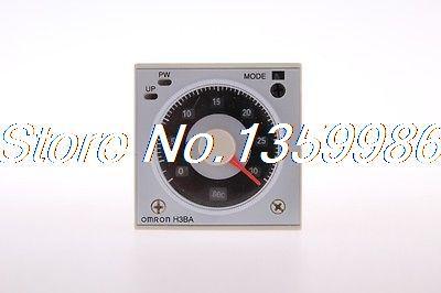 цена на 1Set base+  Multifunctional Time Timer relay H3BA-N8H 8PIN 2NO 2NC AC220V