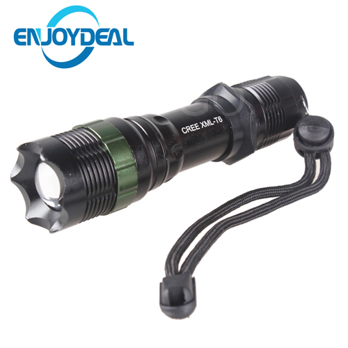 Portable 3000 Lumens Led Flashlight CREE XM-L T6 Flashlight Zoomable Cree Torch Light Waterproof 5 Modes For 1x18650 3xAAA 3000 lumens zoomable cree xm l t6 led tactical flashlight torch zoom lamp light waterproof led 5 modes for 1x18650 3xaaa