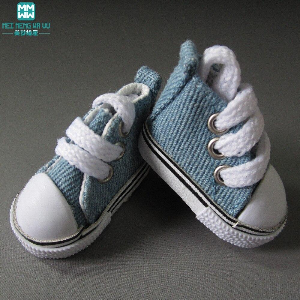 5cm doll Shoes fits1 / 6 bjd doll mini - Boneka dan mainan lunak - Foto 6