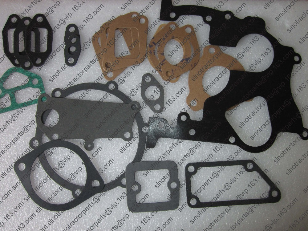Laidong KM385BT the gaskets kit including head gasket,oil sum gasket and valve cover rubber seal  цены