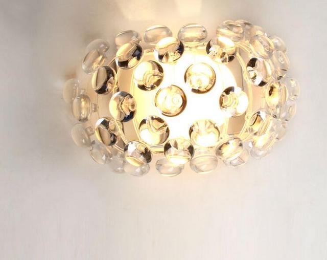 Caboche sfera lampada da parete moderna sconce lampada paralume in