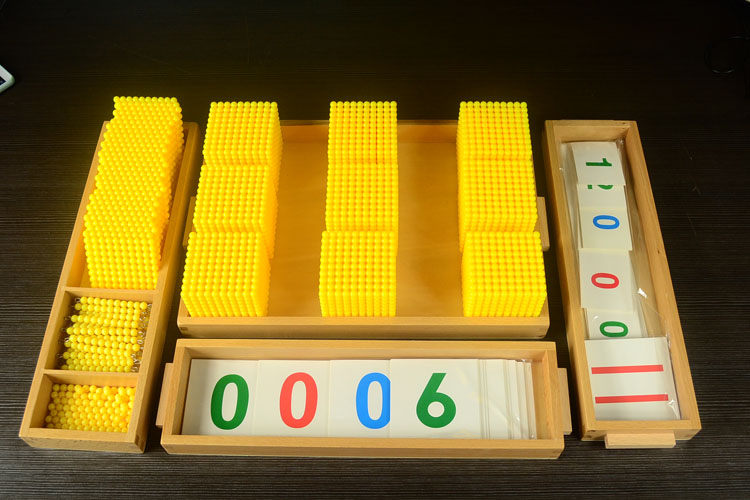 Montessori Materials Bank Game Full Pack Numbers Counting  Beech Wood  Math toys Early educational toys Can Smarter купить