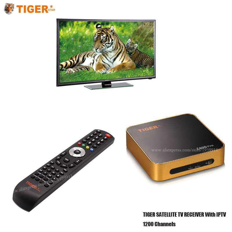 Tiger Star Z400PRO Arabic IPTV French IPTV Satellite TV Receiver