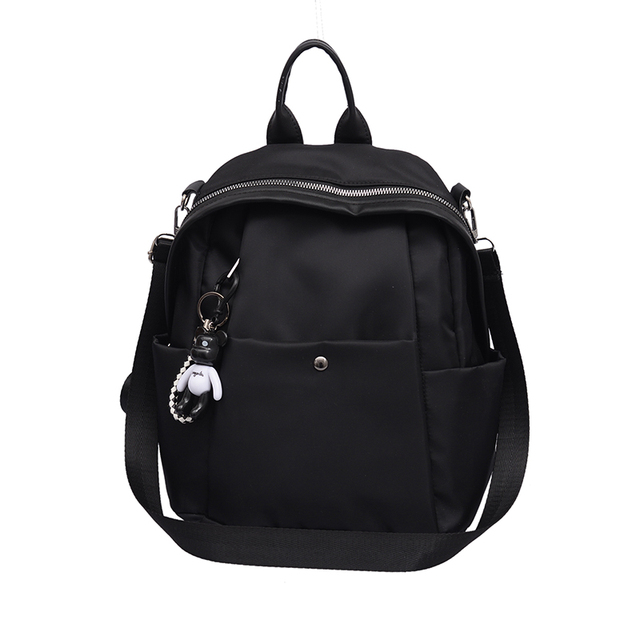 Fashion PU Leather Backpack Female Women School Bags Mini Backpack Girls Shoulder Bags Sac A Dos Multifunction Bagpack XA67K