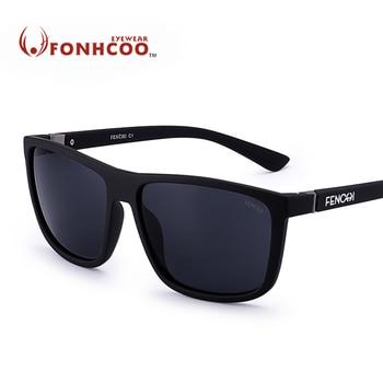 527d8ee369 2018 FONHCOO nuevo gafas de sol hombres Retro vintage mujeres de diseñador  de marca espejo cuadrado gafas conductor UV100 % caliente rayos, gafas de  sol