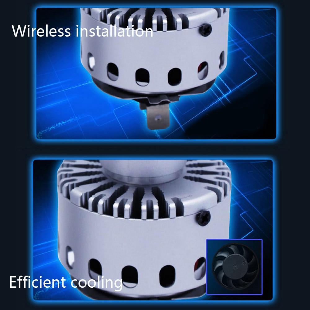 Super svetel samodejni univerzalni žaromet 7S H4 / 9003 / HB2 160W - Avtomobilske luči - Fotografija 6
