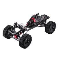 Профессиональный Металлический углеродный рамное колесо шины для AXAIL SCX10 шасси автомобиля 1/10 Радиоуправляемый гусеничный автозапчасти RC а