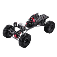 Professional Metal Carbon Frame Wheel Tires for AXAIL SCX10 Chassis Vehicle 1/10 RC Crawler Car Fittings RC Toys Accessories