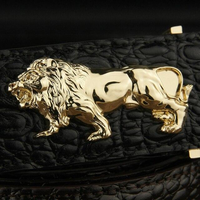Cinturón de León de metal para hombre de 3 0a06e78006ea