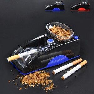 Image 1 - חשמלי מכונת סיגריות קל אוטומטי ביצוע טבק מתגלגל מכונה אלקטרוני להכנת רולר DIY עישון כלי