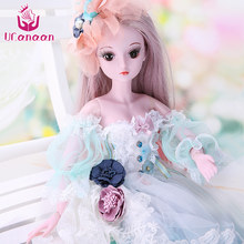 UCanaan 1/3 BJD Doll 60CM /23.6'' height 19 Ball Jointed Dolls (Wig+ Shoes +Clothes +Hair +Eyes+ Makeup) Toys Collection(China)