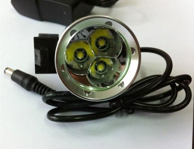Excellence 3T6 3x CREE XML XM-L T6 LED 4 mode 3800 Lumens Bike Bicycle Light Lamp HeadLamp 6400mAh Battery Free shipping
