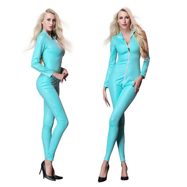 Eksootiline lateksisarnane kostüüm