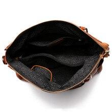 PONG WEE Women Handbag Genuine Cow Leather High Quality Ladies  High Capacity Bag  Messenger  Shoulder Wild Bag 2018 New Arrival
