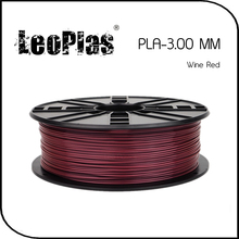 Worldwide Fast Delivery Direct Manufacturer 3D Printer Material 1 kg 2.2 lb 3mm Wine Red PLA Filament