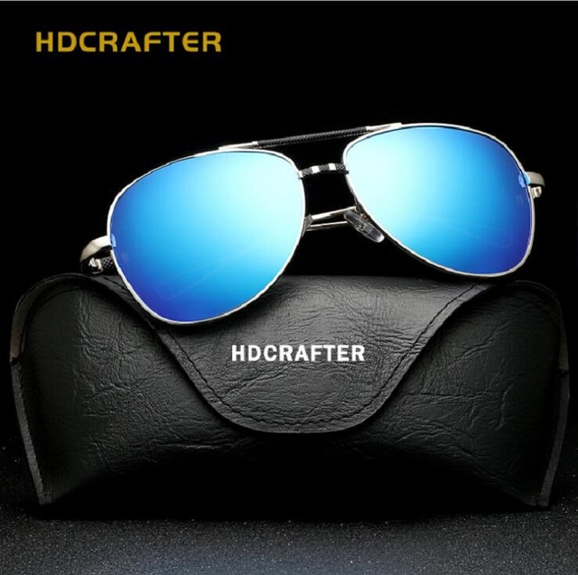 fde4939c00 Hot Men s Brand Designer Polarized Sunglasses Men Integrated Eyewear TAC  Coating blue Sun glasses oculos de sol Male Reloj UV400