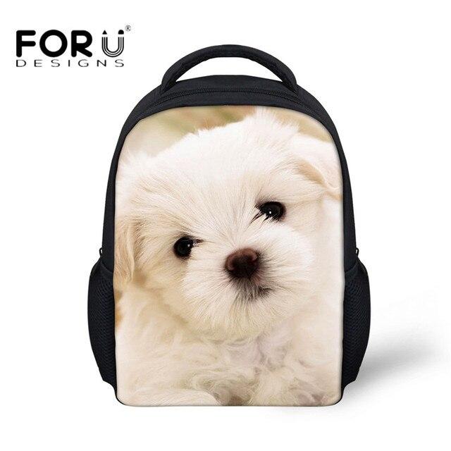 FORUDESIGNS Cute Animal Puppy Dog Print Children