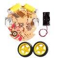 Chasis elegantes del coche/robot de rastreo magnético fuerte