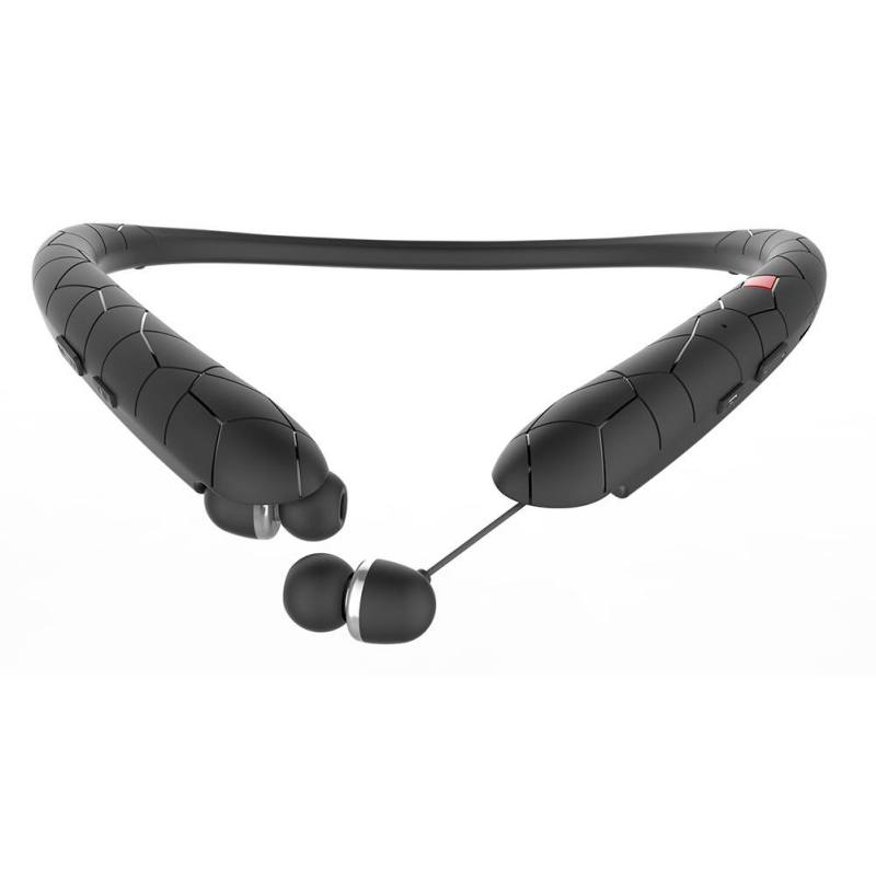 Image 3 - Sports Halter Bluetooth Headset Neckband  Bluetooth 4.1Earphones Wireless Stereo Earbuds For iphone Xiaomi Samsung-in Bluetooth Earphones & Headphones from Consumer Electronics
