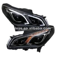 For Hyundai Sonata I45 Head Lamp Angel Eyes LED Headlight 2015 To 2016 Year TLZ