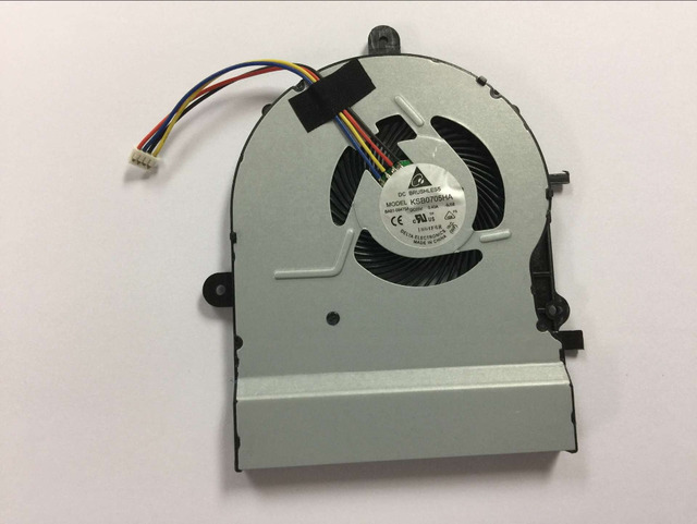 New CPU Cooling Fan for ASUS A501L K501L K501LX K501UX V505L Laptop fan P/N  KSB0705HA-9J58