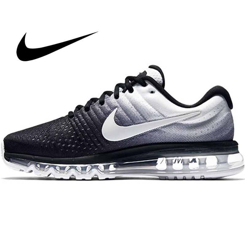 Original Authentic Nike AIR MAX Men's Running Shoes Fashion Breathable Outdoor Sports Shoes 2019 Fashion New 849559-010(China)