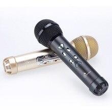 Беспроводной караоке микрофон Динамик micgeek mini bluetooth микрофон Запись петь играть КТВ конденсаторный Портативный microphoine