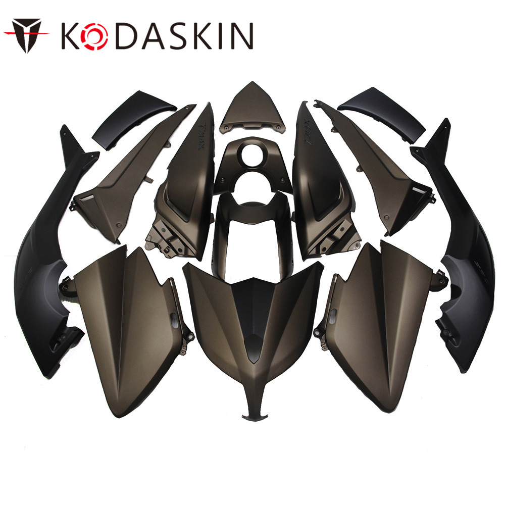 KODASKIN Motorcycle Tmax Fairing ABS Plastic Injection Tmax530 Fairing Kit Bodywork Bolts for Yamaha Tmax 530 2012 2013 2014 unpainted motorcycle abs injection bodywork fairing cowl kit for honda vfr 1200 vfr1200 2010 2011 2012 2013