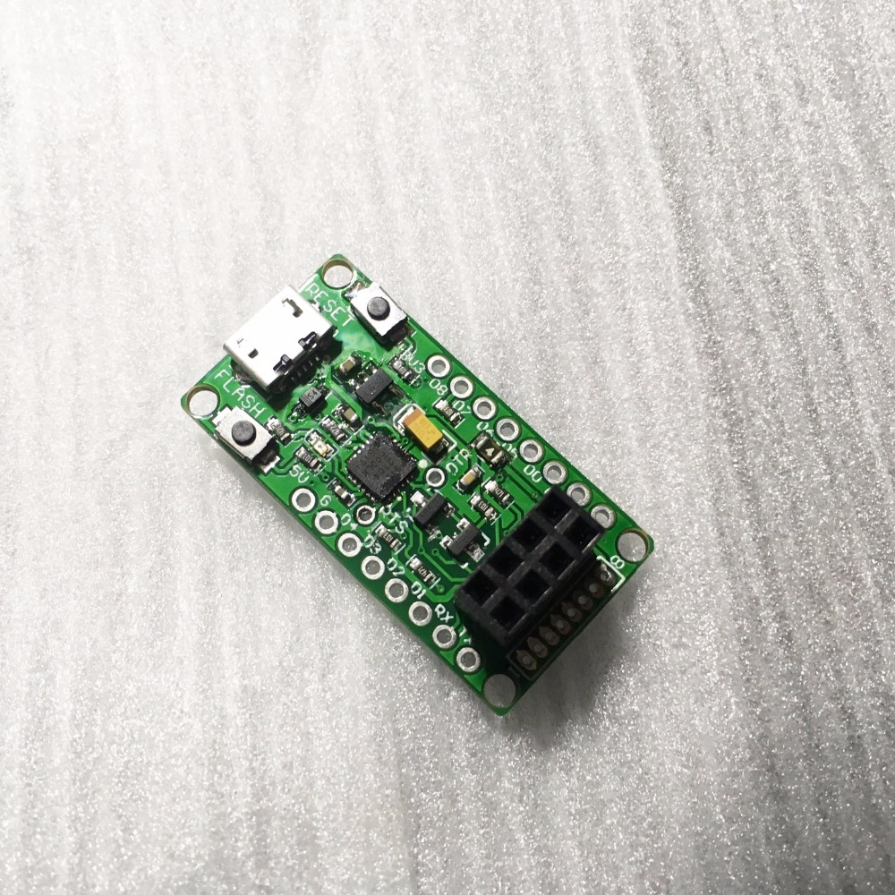 ESP Flasher R4 CP2104 Development Board with USB Programming cable цена и фото