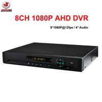 8CH 1080P AHD DVR CCTV Security Surveillance IP Recorder Hybrid NVR Onvif P2P Audio Support 2pcs
