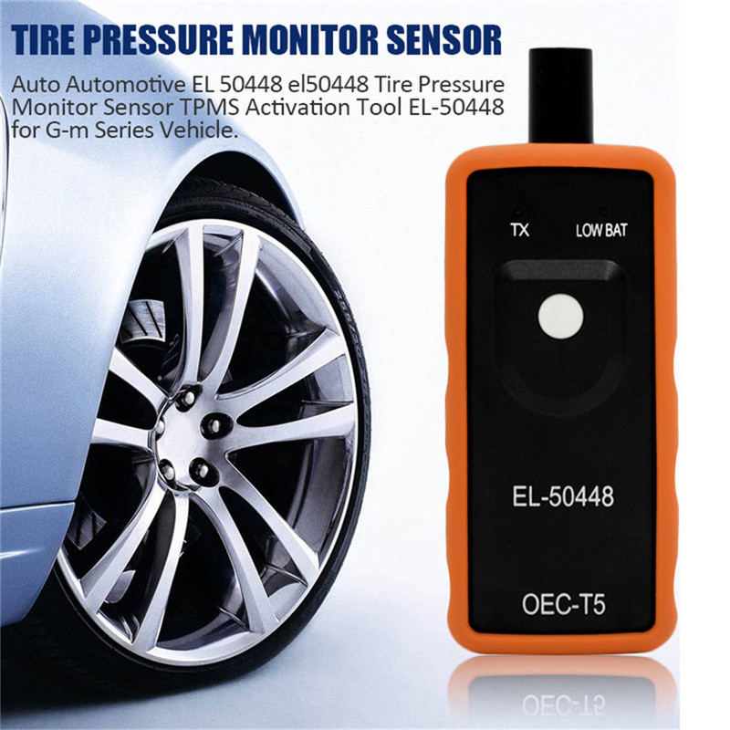 Image 2 - Hiyork EL 50448 Auto Tire Pressure Monitor Sensor Activation Tool For Buick Cadillac For Chevrolet TPMS Reset Instrument Hot New-in Car Diagnostic Cables & Connectors from Automobiles & Motorcycles