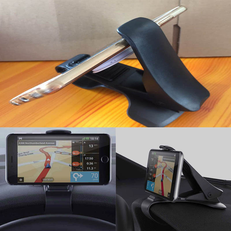 Hot sale Universal High Power Car Dashboard Mount Holder Stand HUD Design Cradle for Cell Phone GPS DXY88 zyz 189 universal 360 degree rotational car mount holder for gps cell phone black