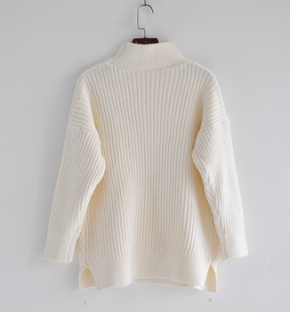 Thick Turtleneck Cashmere Sweater Women 2020 Autumn Winter Knitwear Clothes Tricot Jumper Pull Femme Streetwear