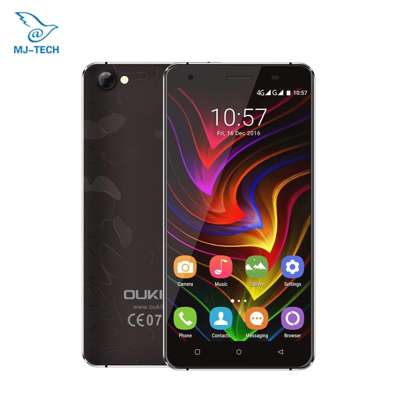 Original Oukitel C5 Pro 4G LTE MTK6737 Quad Core Android 6.0 5.0HD 2GB RAM 16GB ROM 5.0MP GPS OTA Mobile Phone