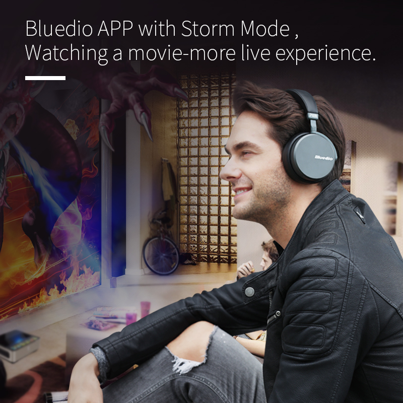 bluedio v2  bluetooth headphones with pps12 drivers and microphone for music