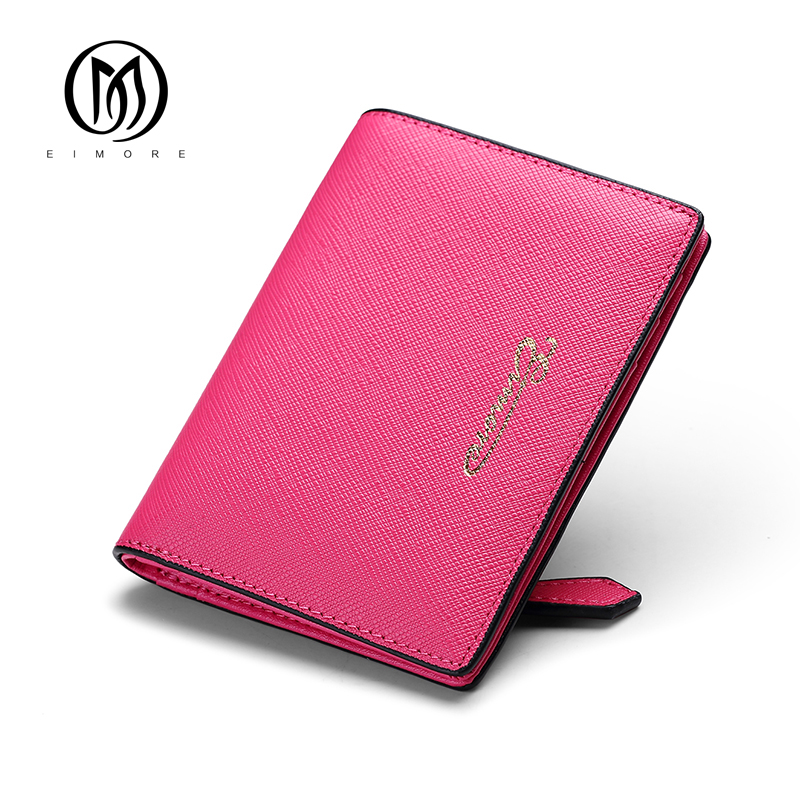 EIMORE Women Wallet Short Coins Purse Leather Wallets Luxury Brand Design Small Wallets Lady Candy Color Thin Wallet Mini Clutch 2017 genuine cowhide leather brand women wallet short design lady small coin purse mini clutch cartera high quality