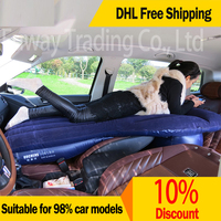 DHL Free Shipping 1 6m Long Design Single Double Universal Car Travel Bed Car Back Seat