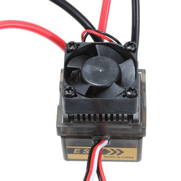 7.2V-16V High Voltage 320A Brush Speed Controller ESC For 110 RC Car Truck Boat