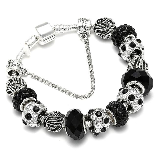 AAA Zircon Charm Bracelet for Women Fit Pandora Bracelet Jewelry DIY Making Accessories Gifts 1