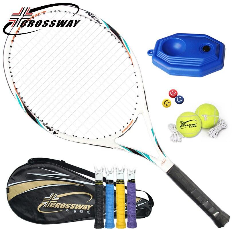 CROSSWAY теннисные ракетки ультра-легкий начинающих углерода профессиональное обучение игре Мужчины ракетка матч любитель interme720