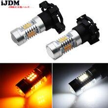 Clignotant avant, sans erreur, pour BMW PY24W 5200s ampoule LED, compatible avec la série E90/E92 série 3 F10/F07 série 5, E83 E70 X5 E71, etc.