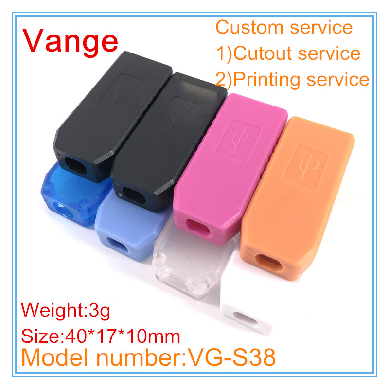 US $2 72 17% OFF|10pcs/lot mold making injection box ABS plastic material  enclosure case shell 40*17*10mm for USB charger device-in Wire Junction