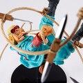 Original Banpresto SCultures Big Zoukei 4 Anime One Piece Paulie batalha PVC figura brinquedo ação PVC figura Vol.4