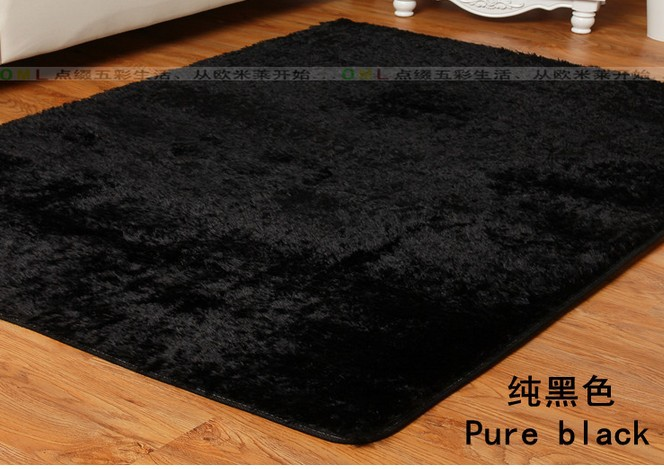New Cheap 80*200cm Black Carpet Home Decor Rug For Living Room Bedroom  Carpet Kitchen Rugs On Sale Door Mat Free Shipping In Carpet From Home U0026  Garden On ...