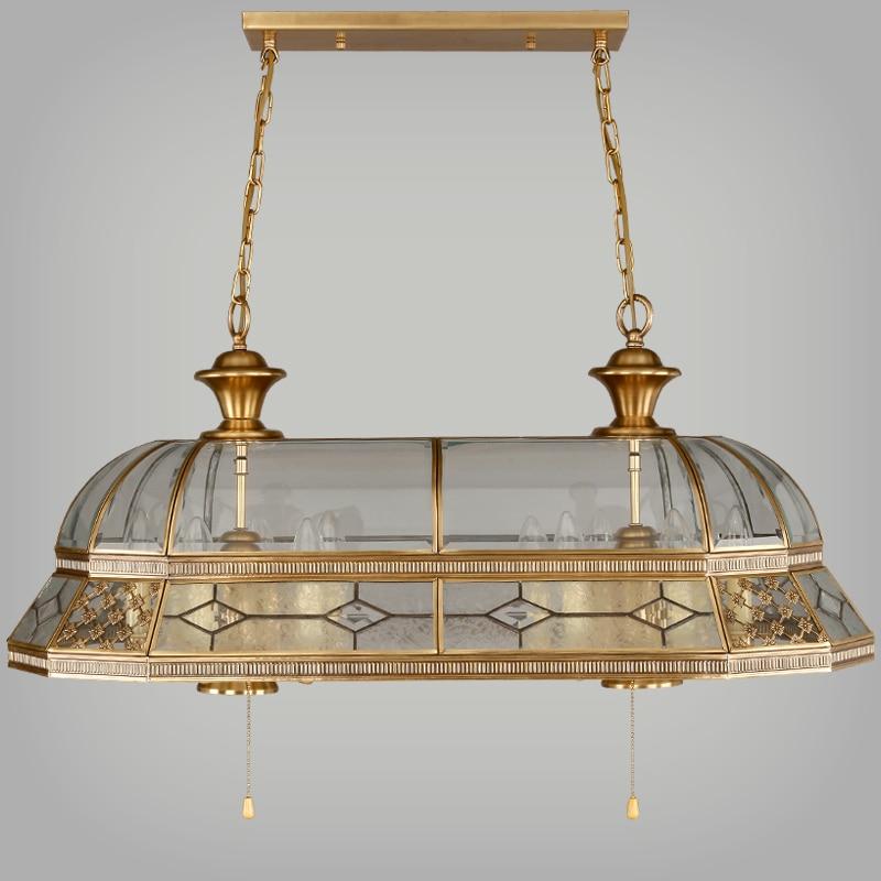 Retro factory lighting baroque antique copper square pendant light fixture for hotel/restaurant/dinning room/parlor/copper lamp