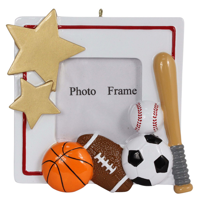 Personalized polyresin glossy Sports Photo frames that can use cadre ...