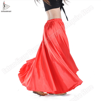 New Women Tribal Skirt Belly Dance Costumes Stage Performance Skirt Bellydance Clothes Gypsy Dance Long Skirts 16 Colors