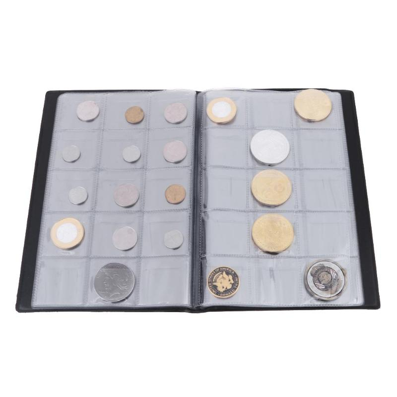 60 Pockets Coin Holders Collecting Album Storage Coin Collection Supplies Green